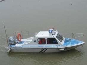 638C半蓬快艇
