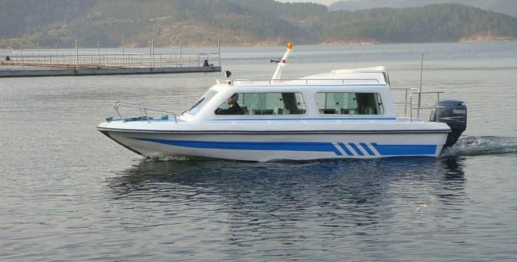650型半棚快艇